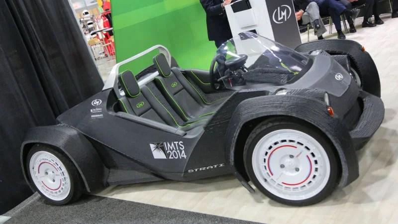 Local Motors Has An All New 3D Printed Car Design
