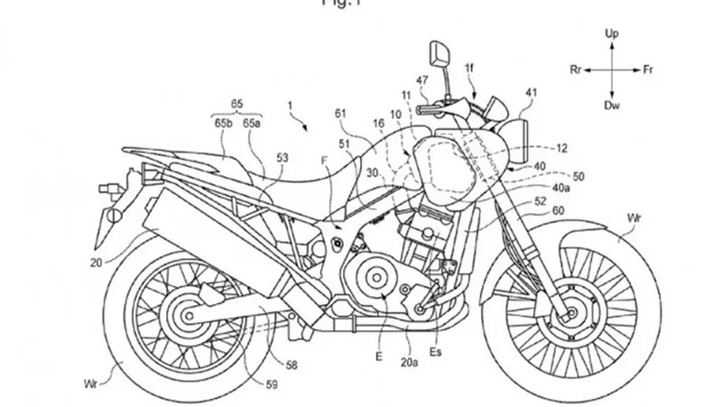 How Honda's New Airbox Will Give The Africa Twin Dirt Bike