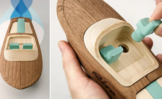 Hand Finished Wooden Toy Boats Too Beautiful To Ever Get Wet