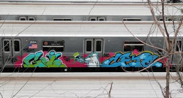 A Rare Look at the Graffiti-Covered History of NYC's Subway