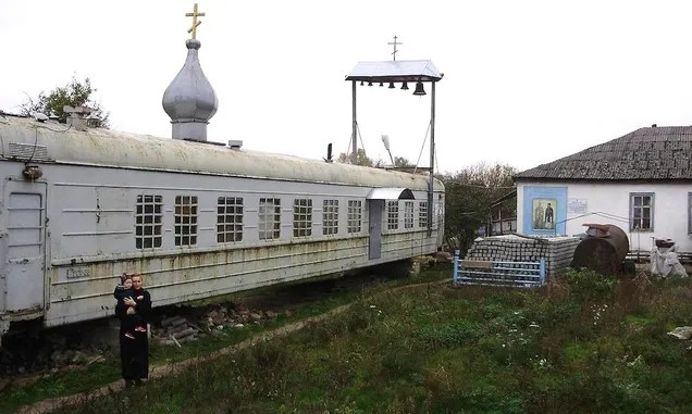These Train Cars Converted Into Churches Are Literal Holy Rollers