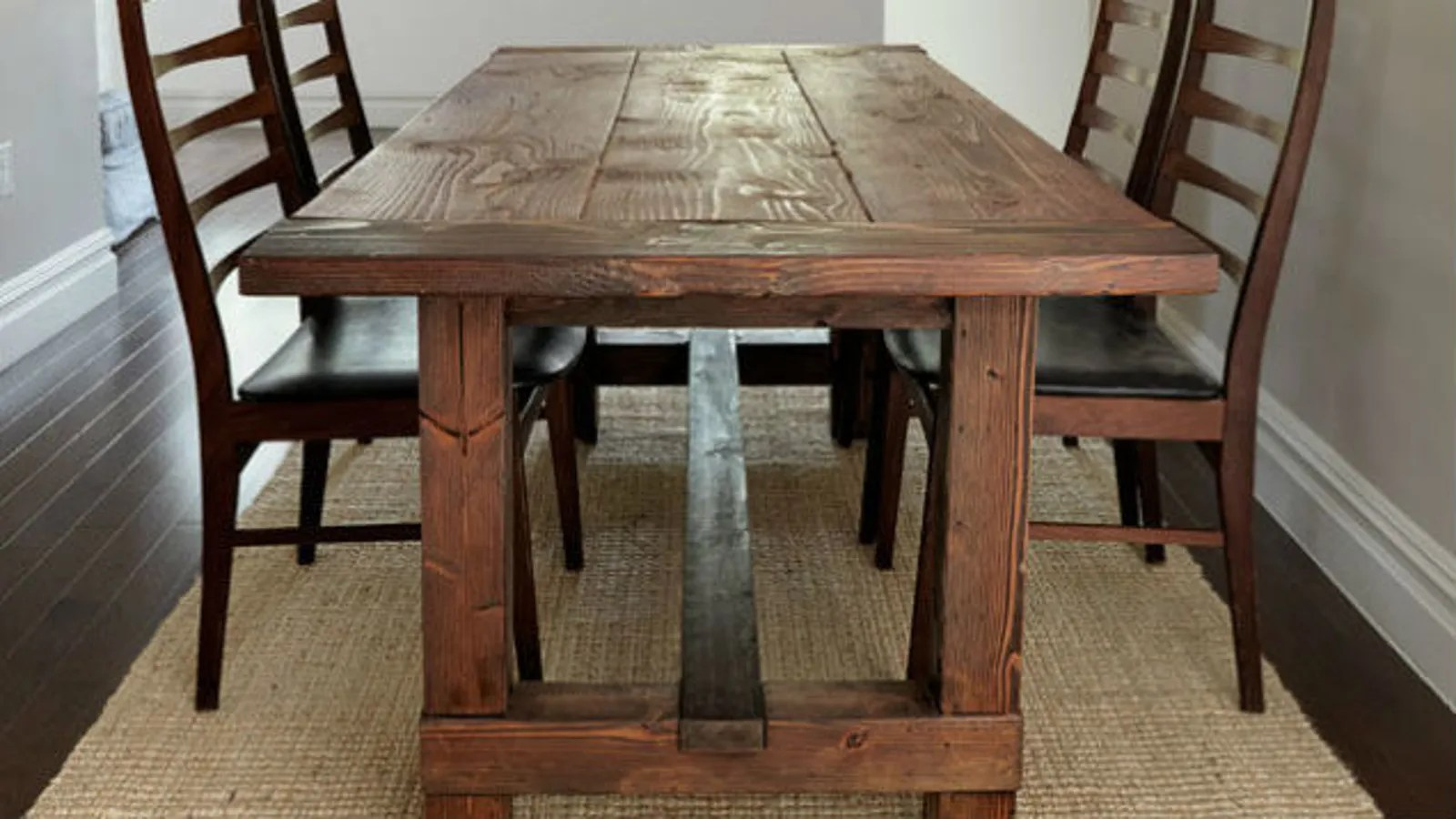 build kitchen table used cabinets indiana a farmhouse dinner that s tough to screw up