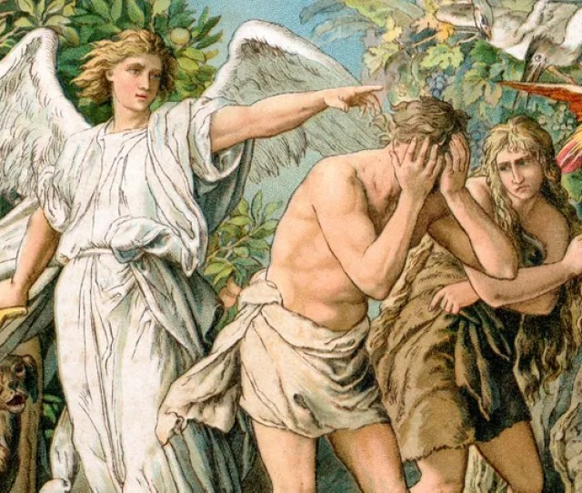 Illustration For Article Titled Religious Conservatives Argue Adam And Eve Would Never Have Been Banished From