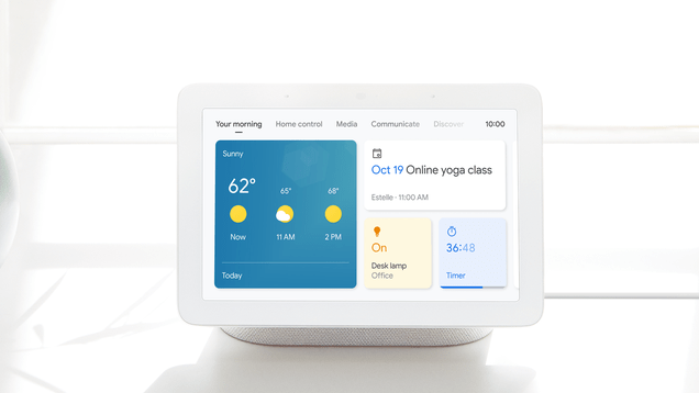 p30yrhyagsgt3yutitqt Google's Smart Speakers and Displays Now Have a Guest Mode | Gizmodo