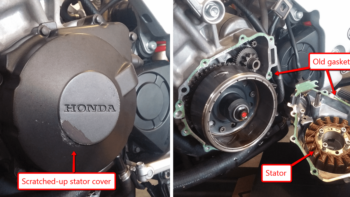 hight resolution of here s exactly what it cost to rebuild a 1993 honda cbr900rr unicorn on cb400f wiring diagram