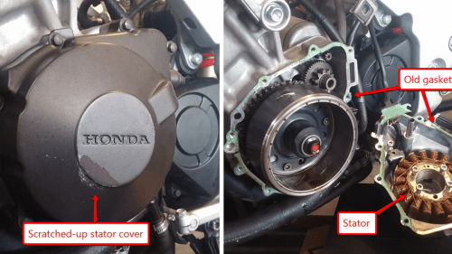 small resolution of here s exactly what it cost to rebuild a 1993 honda cbr900rr unicorn on cb400f wiring diagram