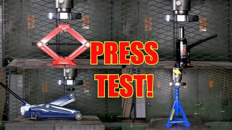 a hydraulic press is