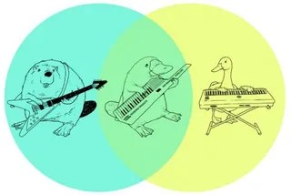 platypus venn diagram wiring for motorcycle headlight this explains so much keytars have been on my mind a lot lately then again when are they not anyway here s the world all time greatest keytar to