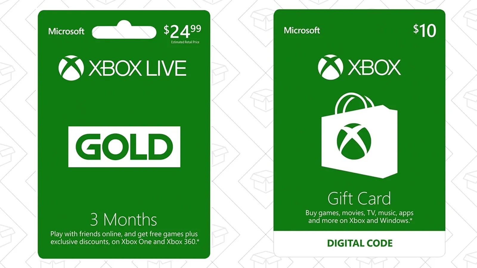 Buy Three Months Of Xbox Live Gold Get A 10 Xbox Gift Card