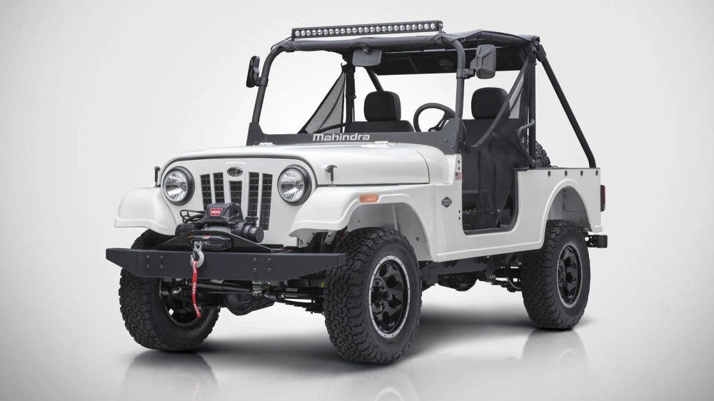 medium resolution of the mahindra roxor is a tiny offroad jeep that you can totally buy in america