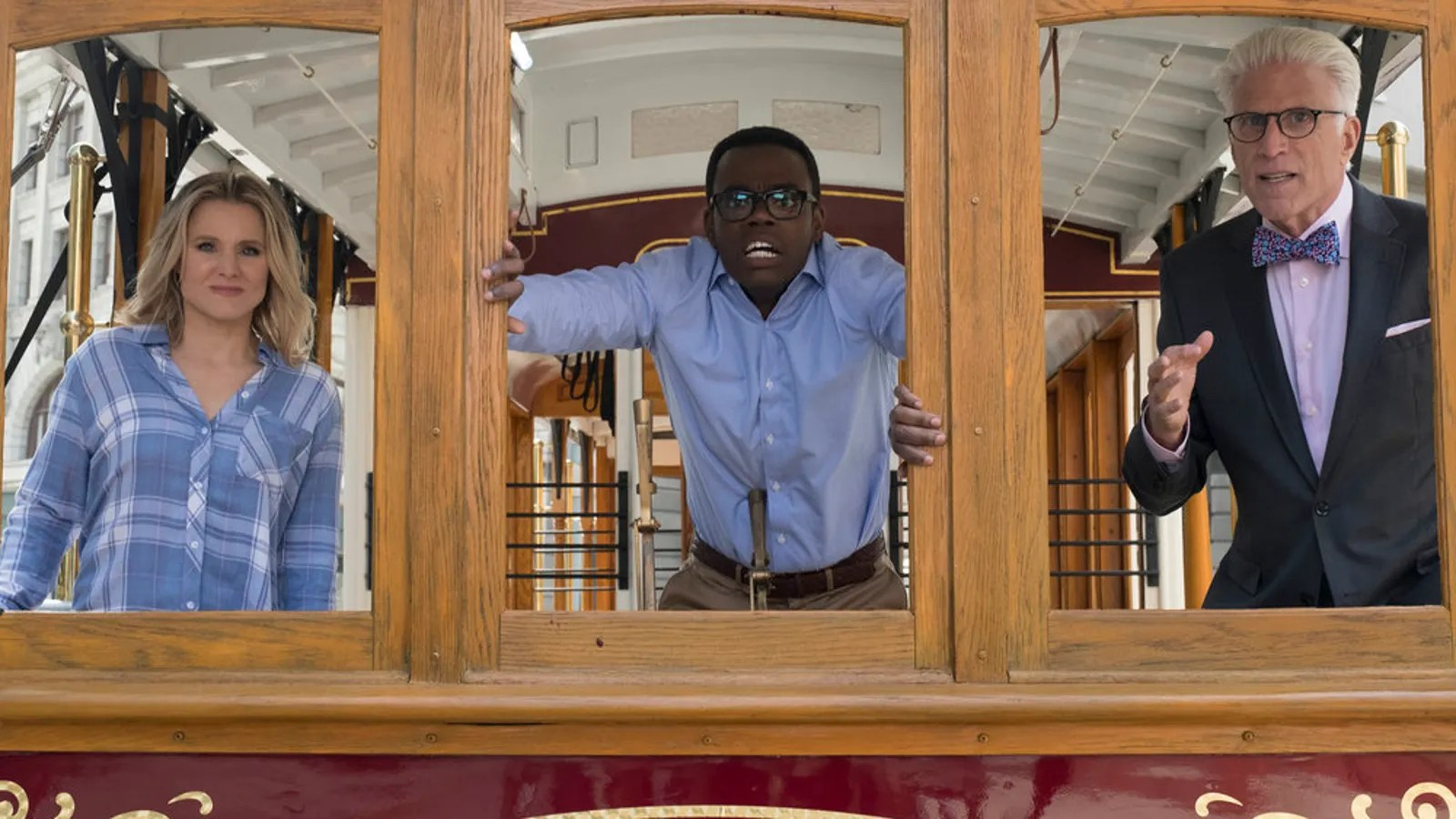 Chidi Wrestles With The Trolley Problem On A Brilliantly