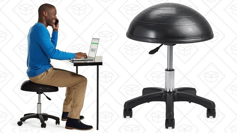 balance posture chair bean bag stool your could use some work so save on gaiam s ball 103