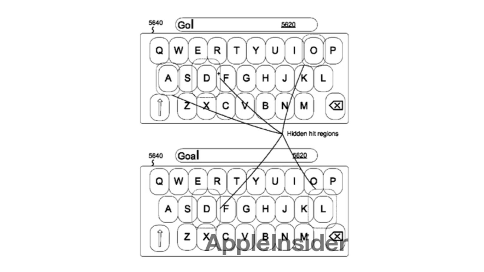 The iPhone's Future Predictive Keyboard Makes Certain Keys