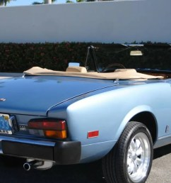for 9 990 could this 1981 fiat 124 sport spider make you forget the new miata based one  [ 1200 x 675 Pixel ]