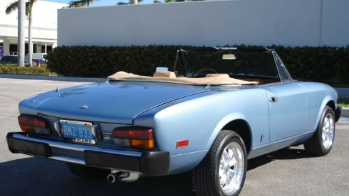 small resolution of for 9 990 could this 1981 fiat 124 sport spider make you forget the new miata based one