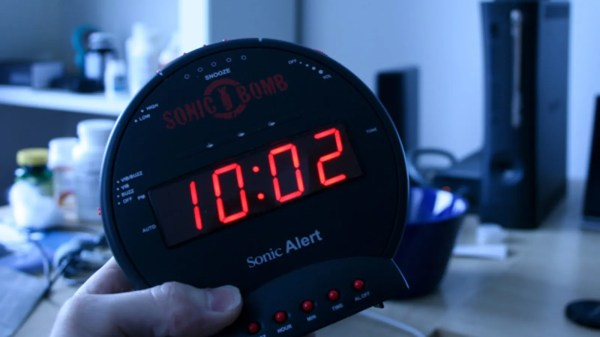 Sonic Bomb Alarm Clock Lightning Explodes Dreams