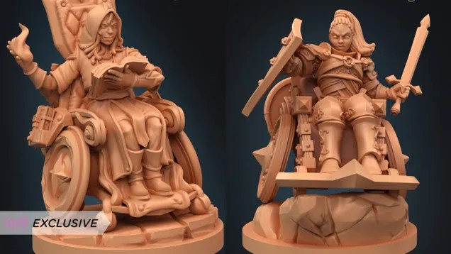 rnh4v5pofsz7ezstpywr Creators of Combat Wheelchair Miniatures on the Challenges of Pushing RPGs to a More Inclusive Future | Gizmodo