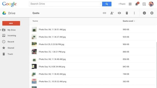 Find the Files Taking Up the Most Space in Google Drive
