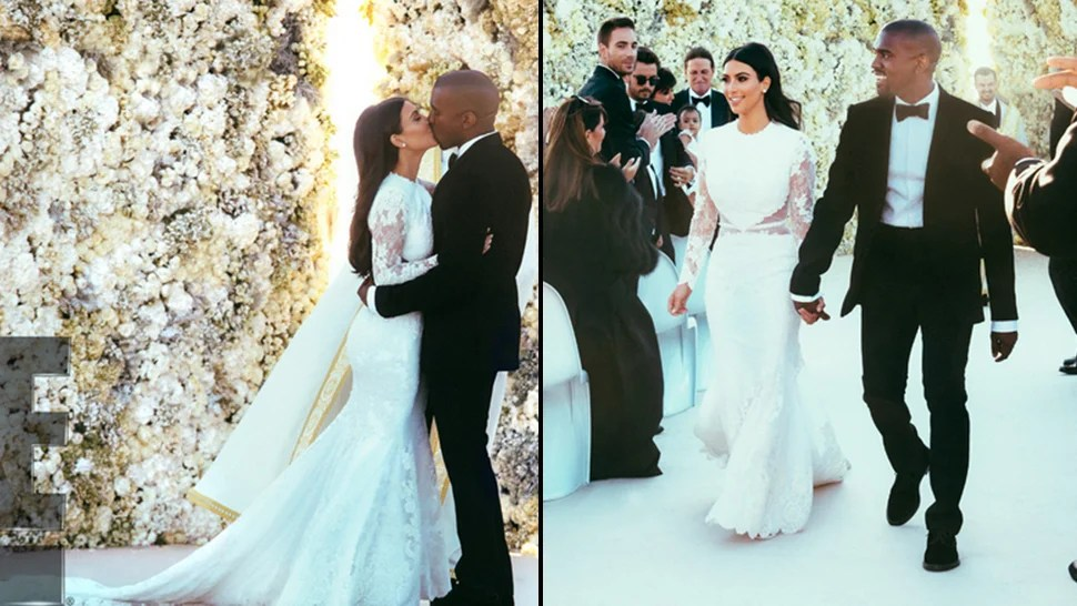 Kim and Kanye's Wedding Pictures Are Actually Really Sweet