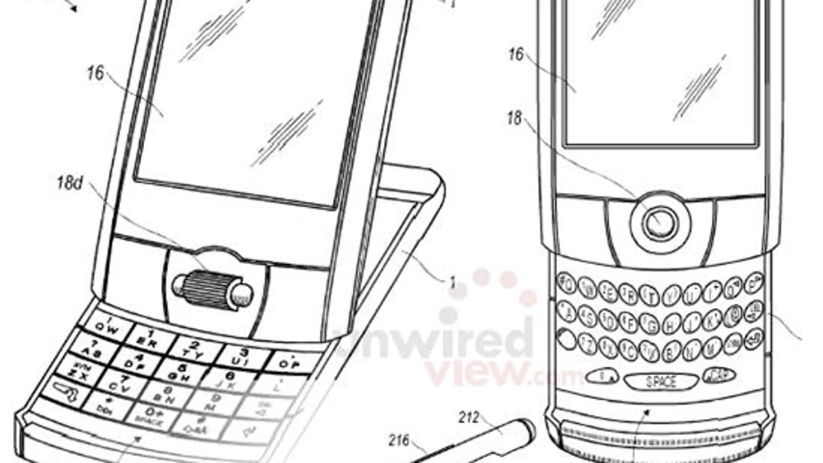 New RIM Patents Hint at New Blackberry Form Factors