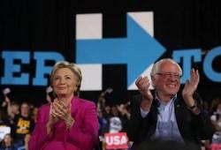 "Hillary Clinton says ""Bernie bros"" helped Trump win"