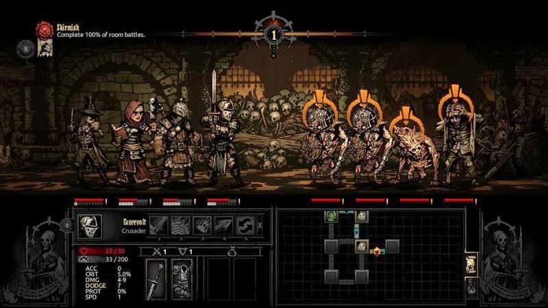 darkest dungeon is easier