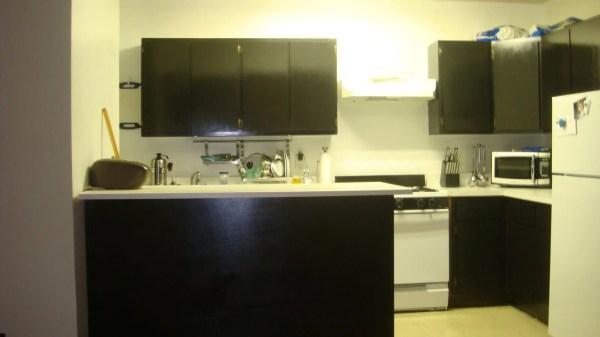Turn Inexpensive Ikea Shelf Kitchen Bar