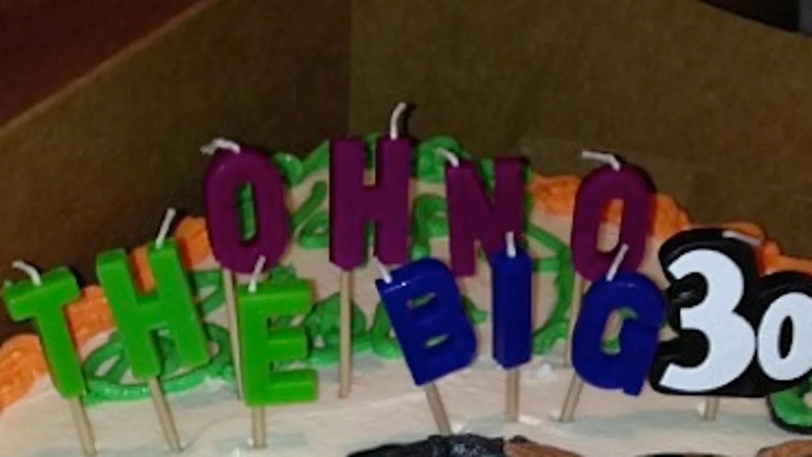 brent grimes got a very nsfw cake for his 30th birthday