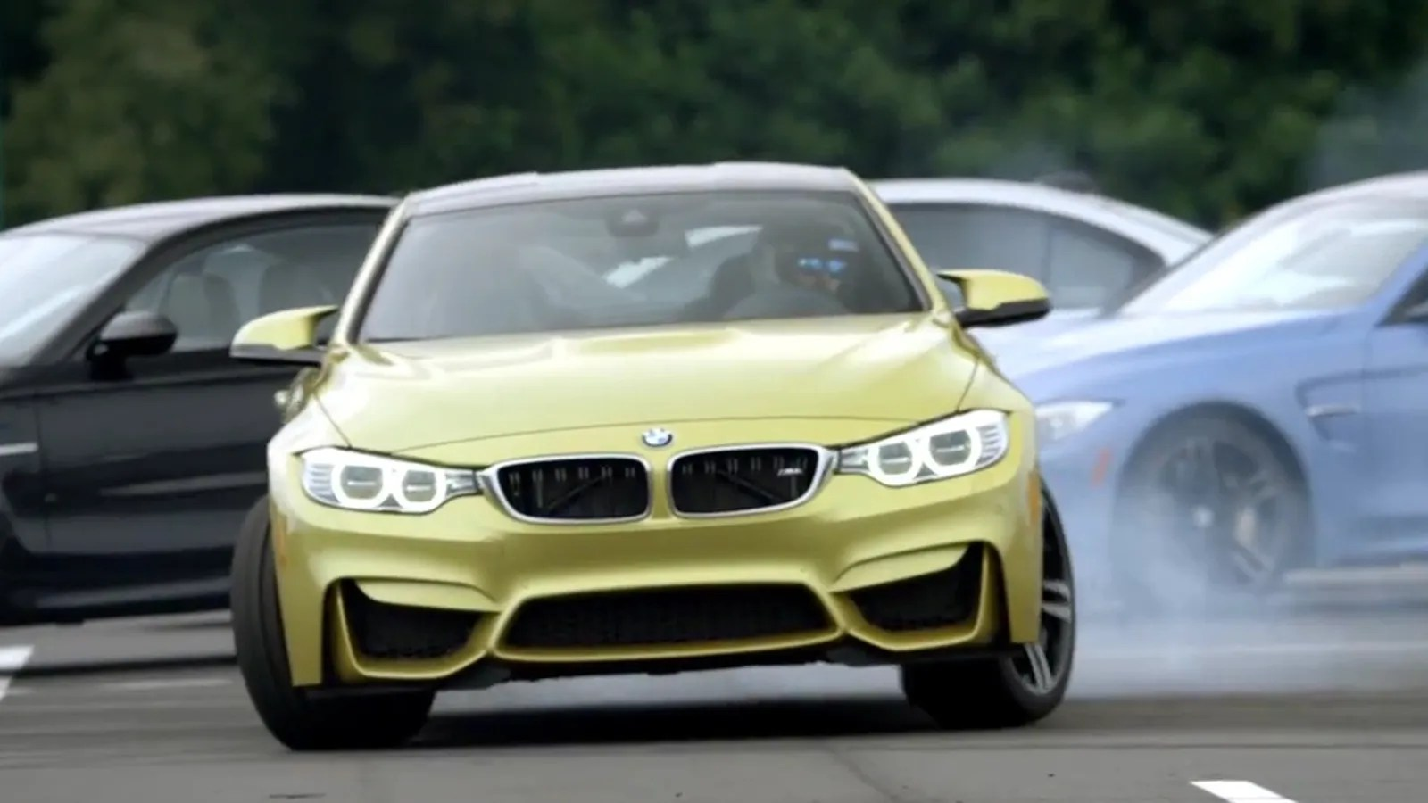 Precision Drifting A Bmw M4 Around Owners' Mcars