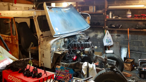 small resolution of a simple electrical issue has stopped my 500 postal jeep project in its tracks