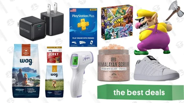 zws0xrg1o8jwlugz2jgo Wednesday's Best Deals: iPhone 12 Chargers, Wag Dog Food, PlayStation Plus, Himalayan Scrub Salt, K-Swiss Sneakers, Avengers Stormbreaker Axe, and More | Gizmodo