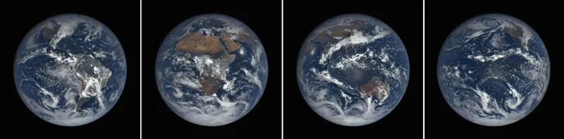 The Earth Today, Seen from Space