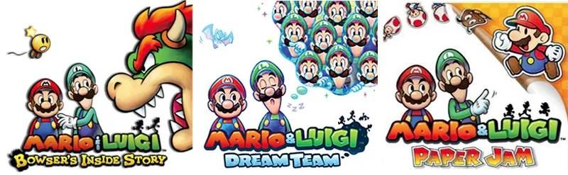 the mario luigi series