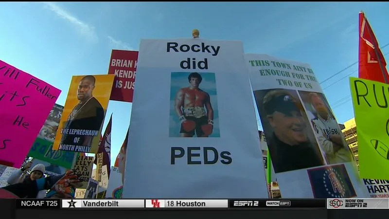 Hinkie Traded This Sign For Draft Picks: Your Philadelphia College GameDay Sign Roundup