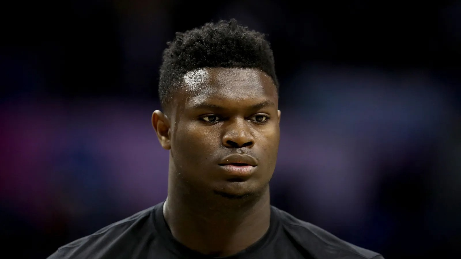 Zion Williamson In Panic After Realizing Game Falls On
