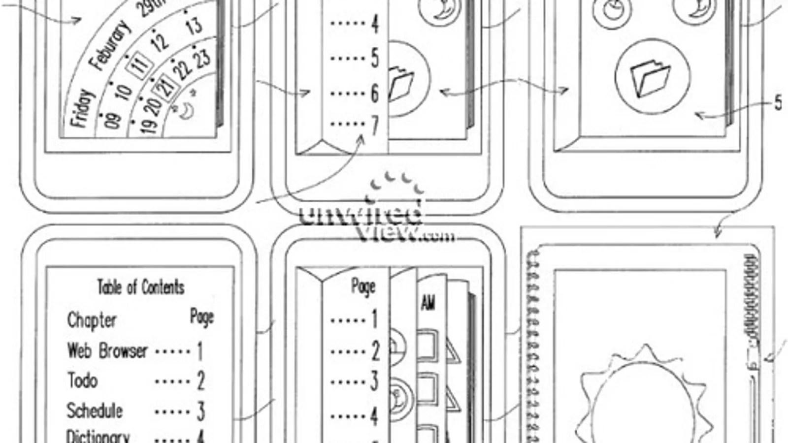 """HTC's """"Virtual Book"""" UI Patent Could Be Sense UI's Successor"""