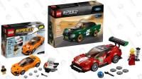 McLaren? Porsche? Ferrari? Take Your Pick of LEGO Speed