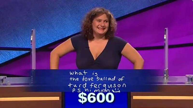Wily Jeopardy Contestant Gets Alex Trebek To Say Turd