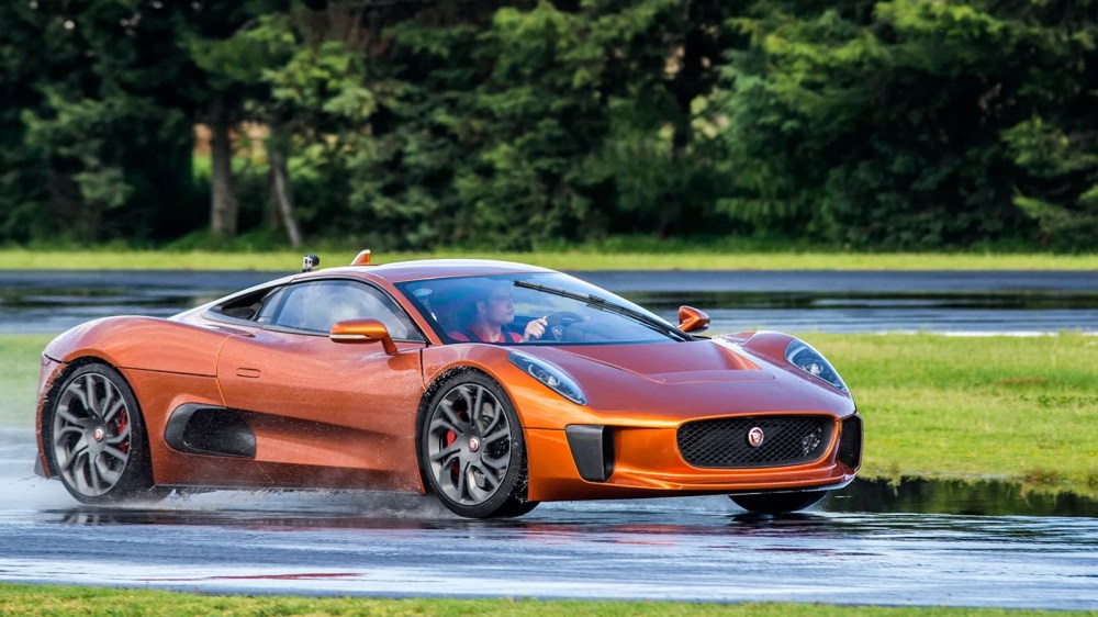 medium resolution of it s a miracle jaguar s c x75 james bond car exists at all and it s freaking amazing to drive