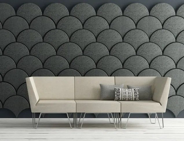 These ScaleShaped Tiles Will Soundproof Your Room With Style