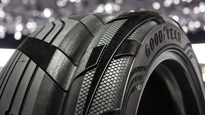 Goodyears Clever Concept SUV Tire Has The Grand Canyon In