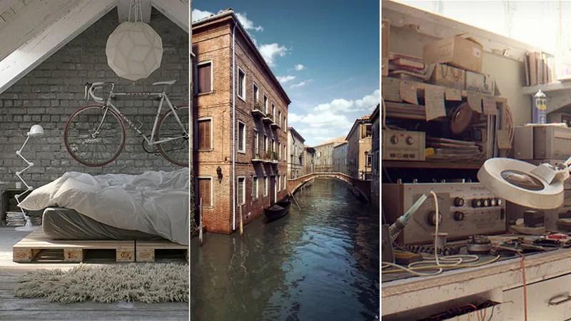 38 renders de arquitectura tan perfectos que parecen fotografas