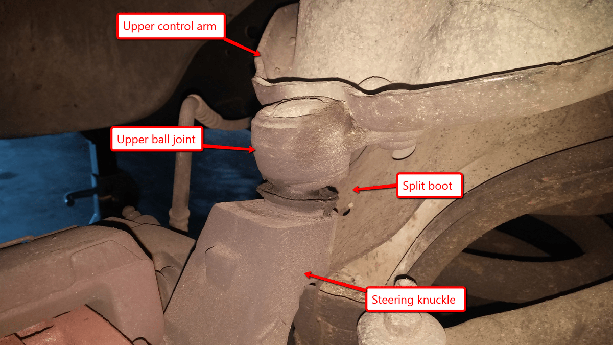 hight resolution of here s how to replace the worst type of ball joints in the automotive world