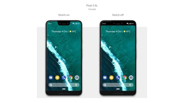 Hasil gambar untuk Pixel 3 dan Pixel 3 XL