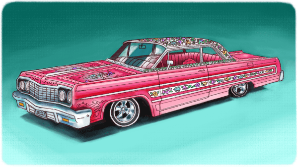 Hecho En Xico Lowrider Murals Insanely Detailed