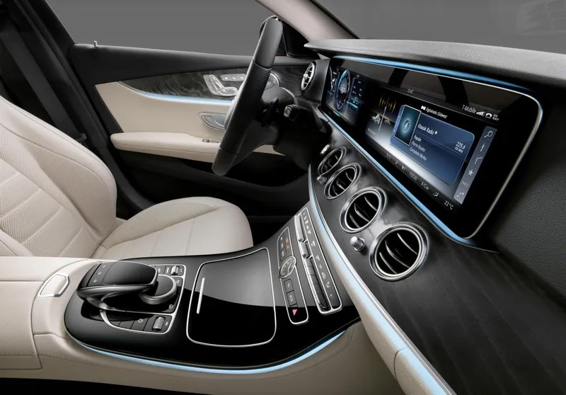 The 2017 Mercedes-Benz E-Class Has All The Display Screens
