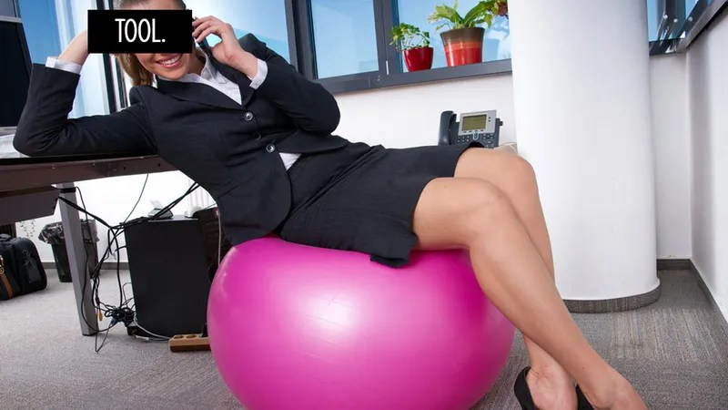 Sitting on an Exercise Ball at Work Yields No Results