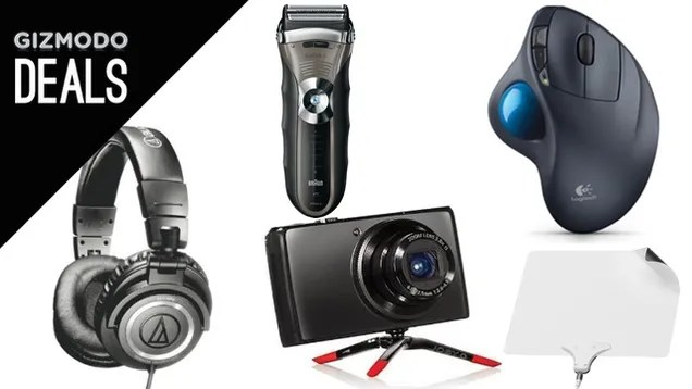 Audio-Technicas, The Littlest GorillaPod, Electric Shaver, LifeProof