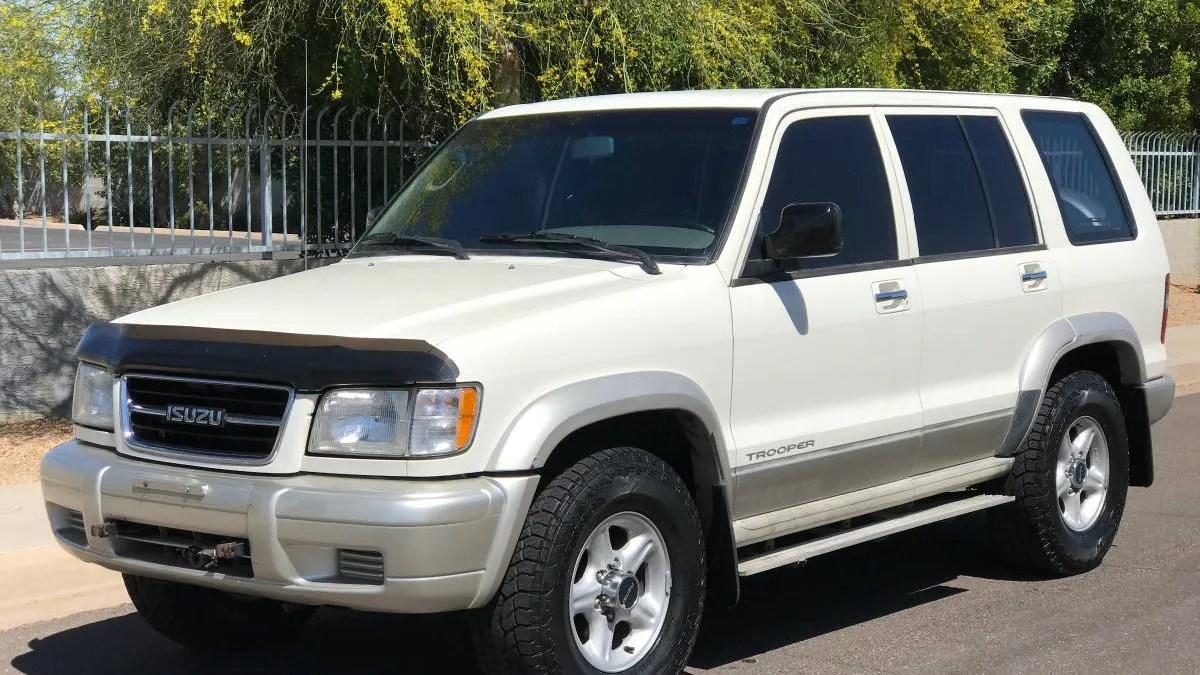 hight resolution of 1999 isuzu trooper owner manual