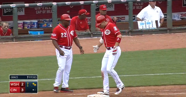 Joey Votto Walked On Three Balls; Everything Is A Lie